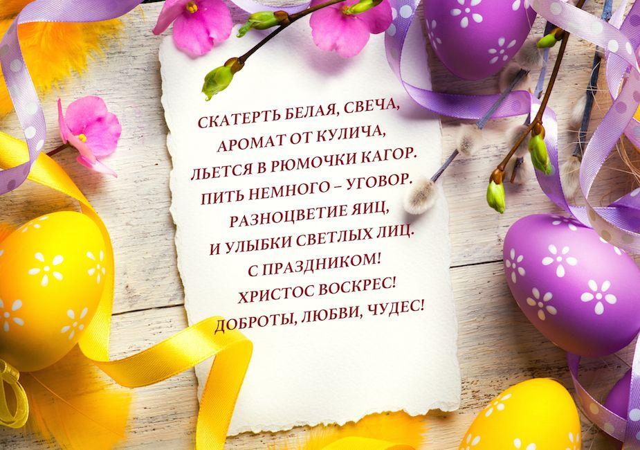 Великдень 4 квітня: красиві та щирі привітання у віршах, прозі та листівках
