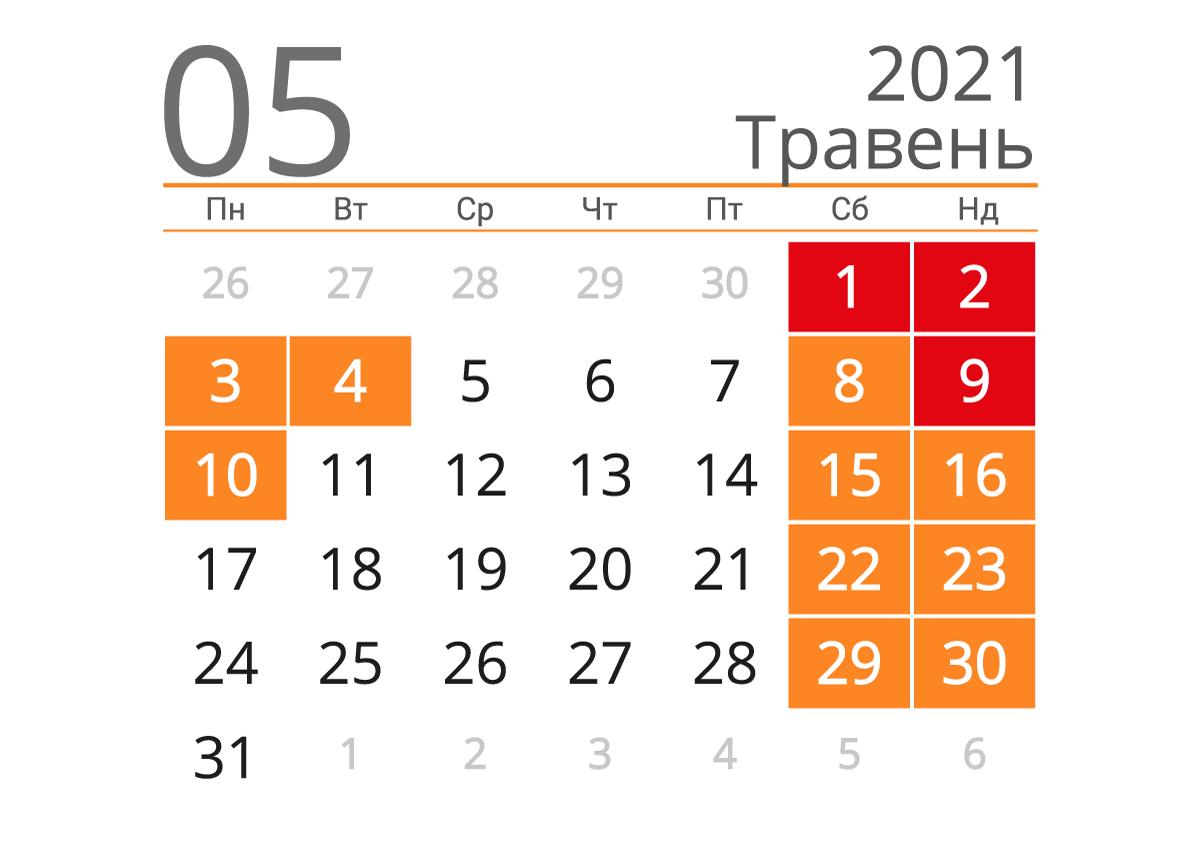 На початку травня на українців чекають довгі вихідні: скільки будемо відпочивати на Великдень