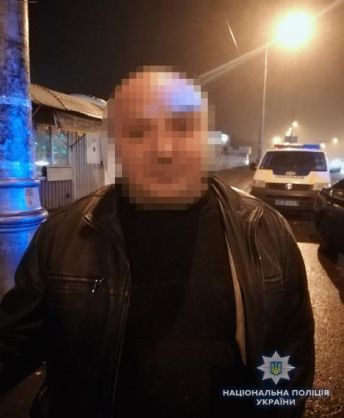 ВКиеве задержали пьяного сгранатой ипистолетом
