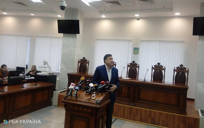 Суд переніс засідання усправі Саакашвілі нанаступний рік