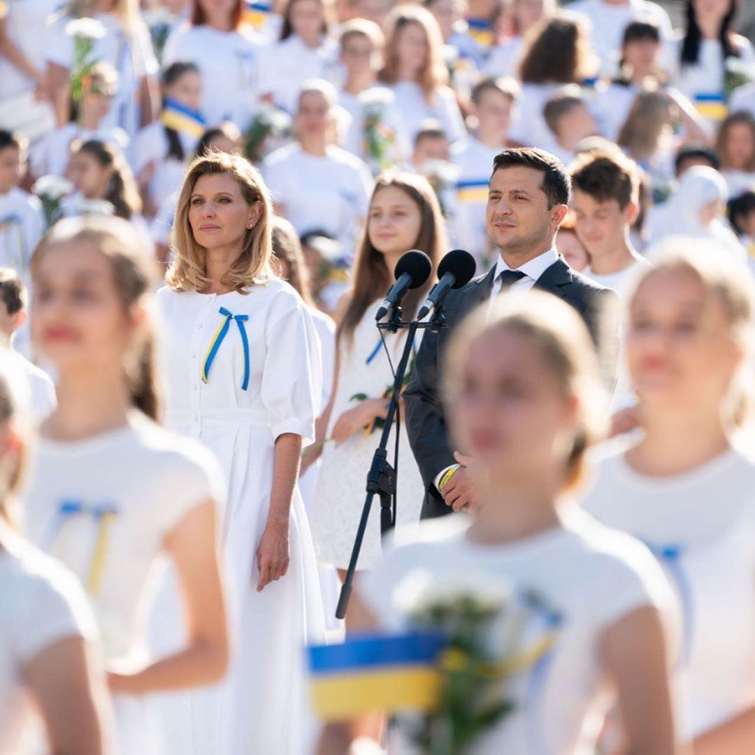 Елена Зеленская сразила всех наповал свои нарядом на День Независимости (Фото). Новости Днепра