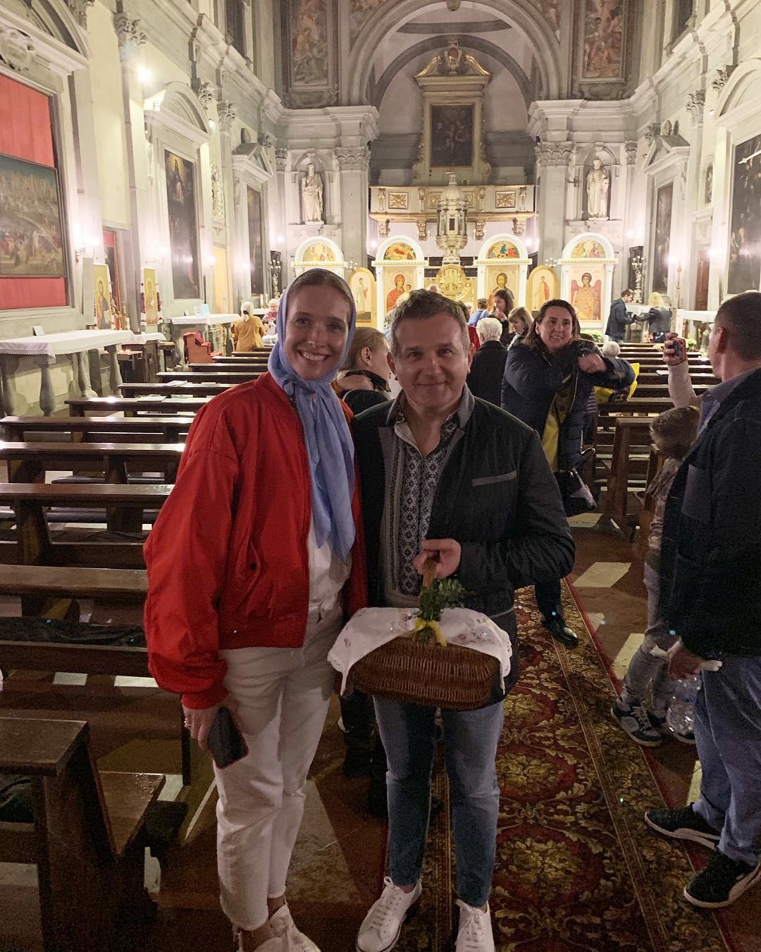 Красиві і щасливі: Осадча та Горбунов святкують Великдень у Флоренції