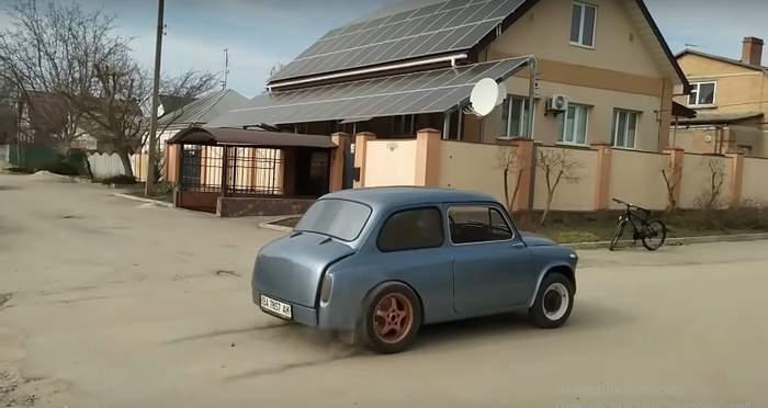 """Як тобі таке Ілон Маск? Українець створив електричний """"Запорожець"""""""