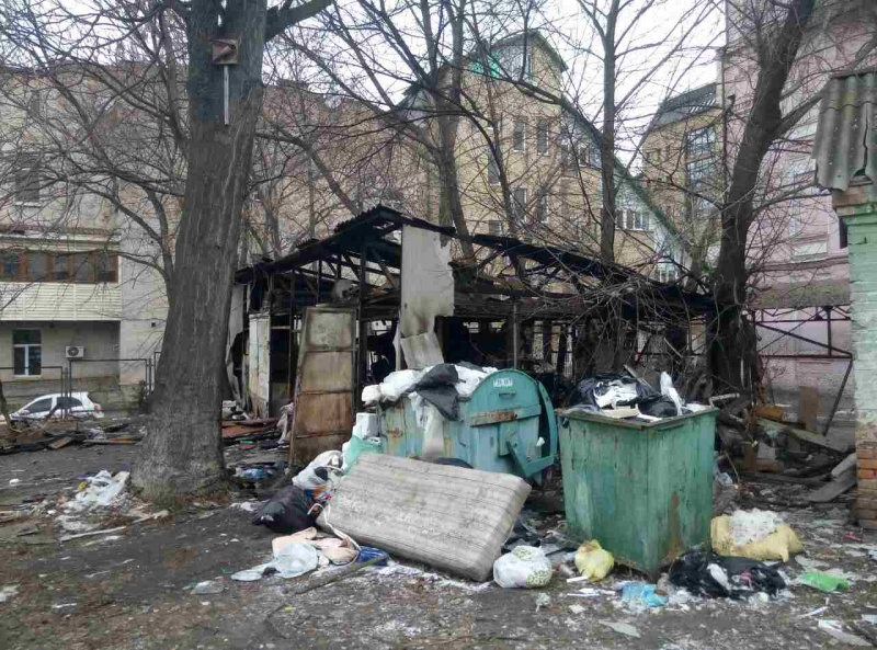 Впламени погибли два человека— Пожар вКиеве