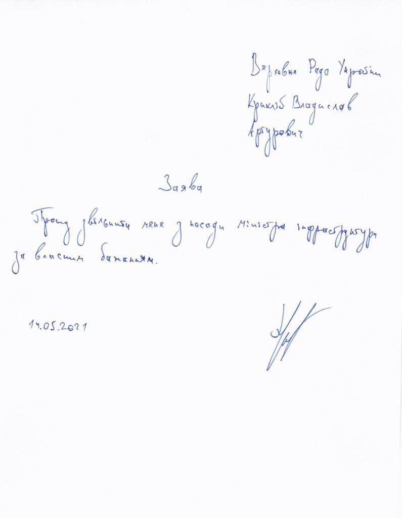 Криклий и Петрашко написали заявления об отставке