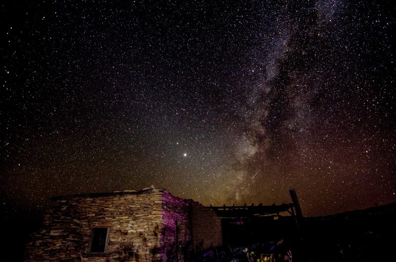 Віфлеємська зірка могла бути планетарним з'єднанням 2 тисячі років тому (фото: EarthSky Community Photos / Michael Zuber)