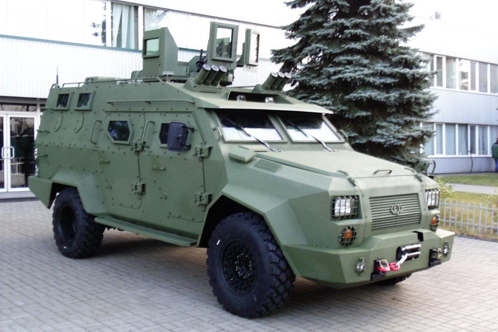 Новый украинский бронированный
