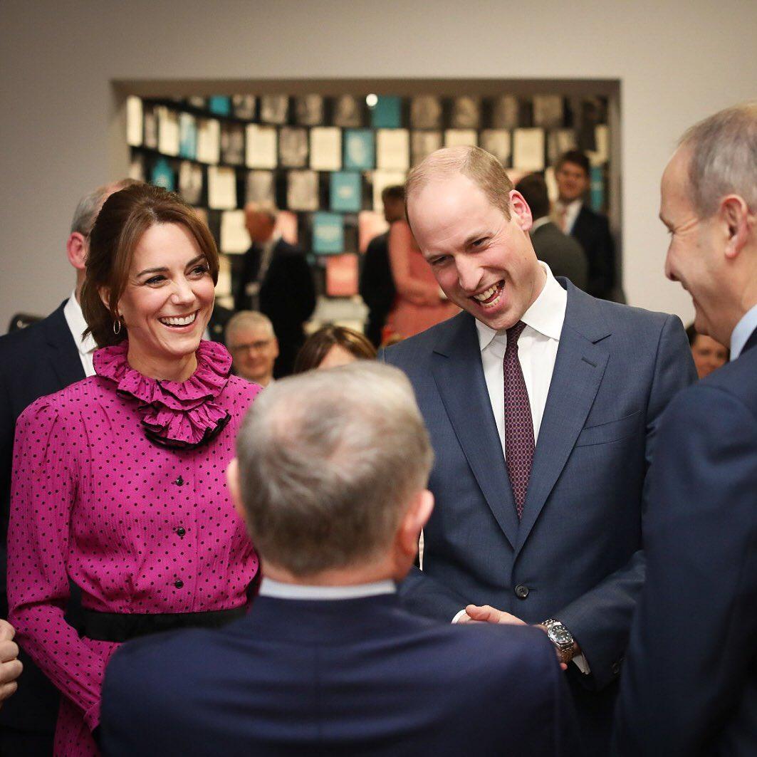 Как принцесса Диана: Кейт Миддлтон вышла в свет в уникальном винтажном платье