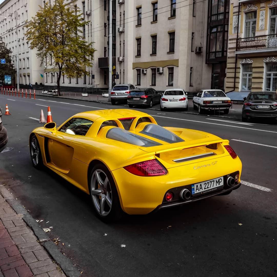 В Киеве заметили шикарный суперкар: может стоить миллион долларов