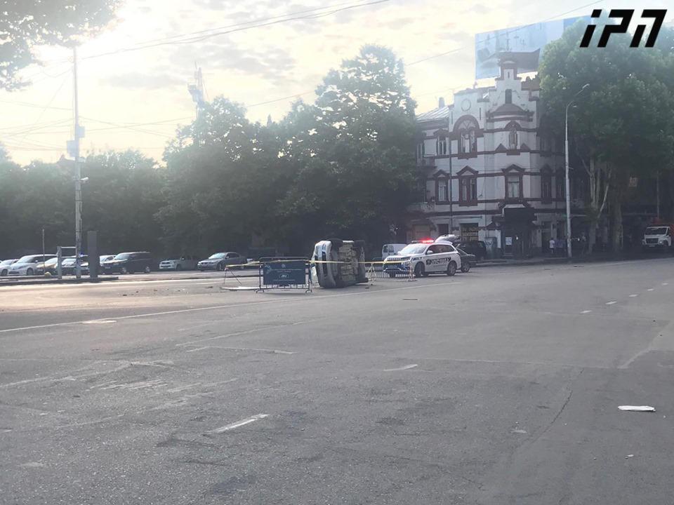 Правоохранители разогнали протесты в Тбилиси