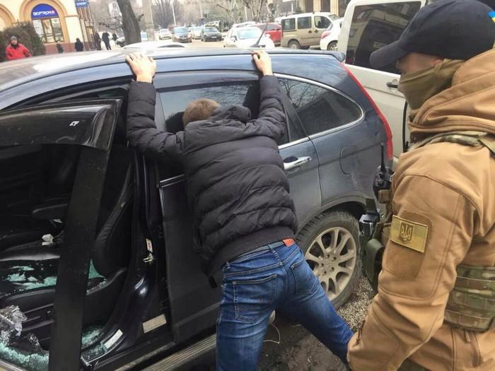 НаХерсонщине СБУ задержала директора государственного лесхоза