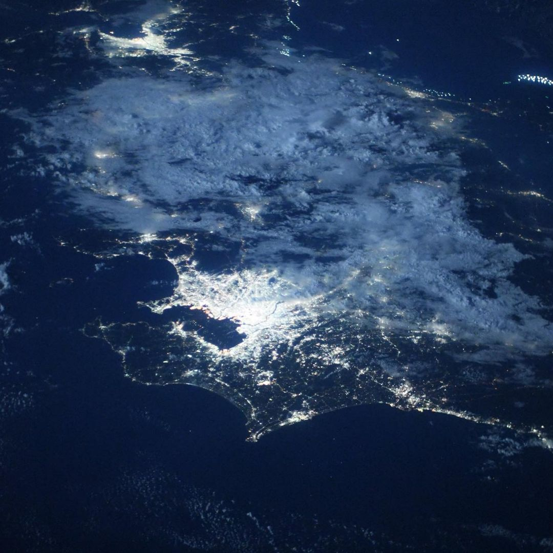Олимпийские игры из космоса: NASA показала невероятные фото Токио