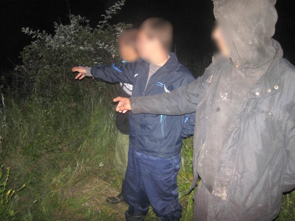 У Сумській області затримали трьох тубільців Московії за порушення кордону