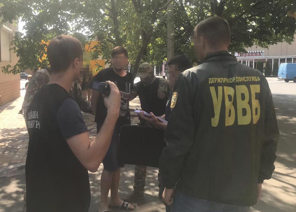 В Одеській обл. затримали прикордонника за поширення наркотиків