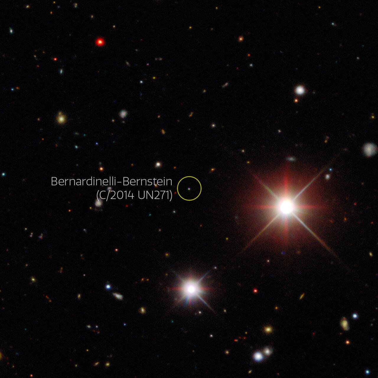 Ученые открыли гигантскую комету, которая пришла с окраин Солнечной системы (фото)