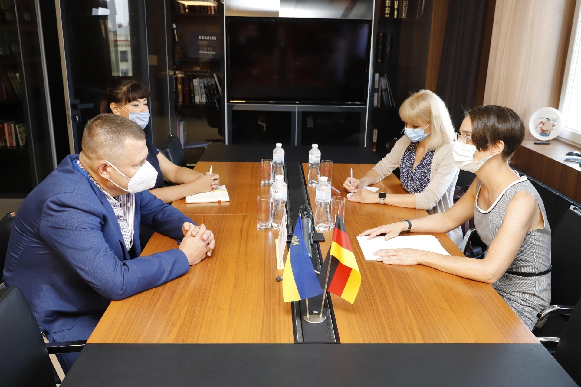 Филатов обсудил с генконсулом Германии дальнейшие перспективы сотрудничества