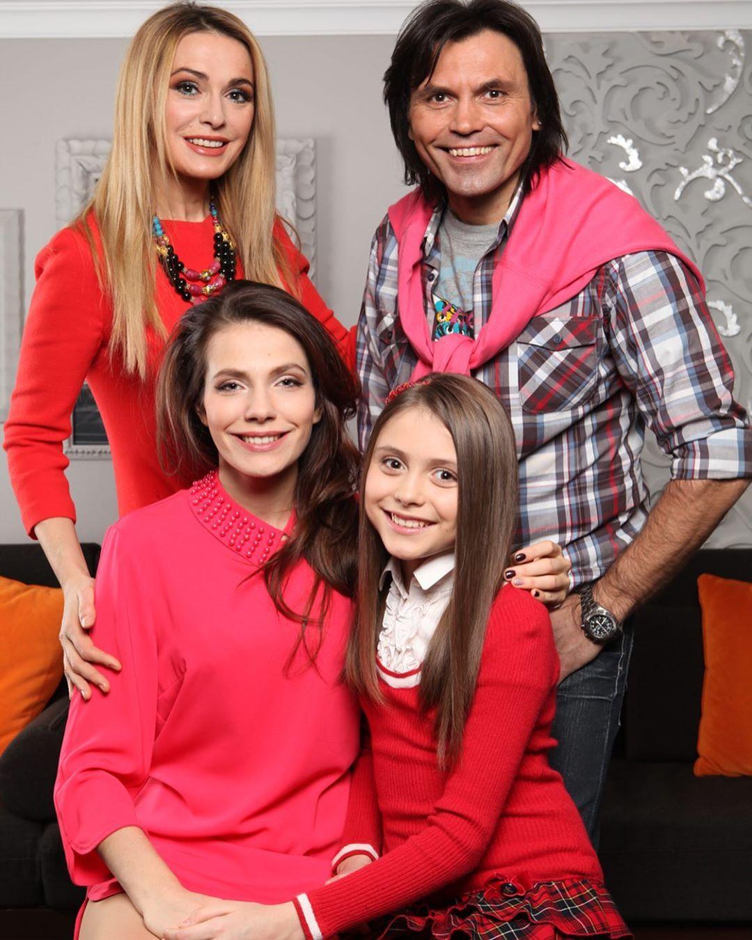 Ольга Сумская с дочками