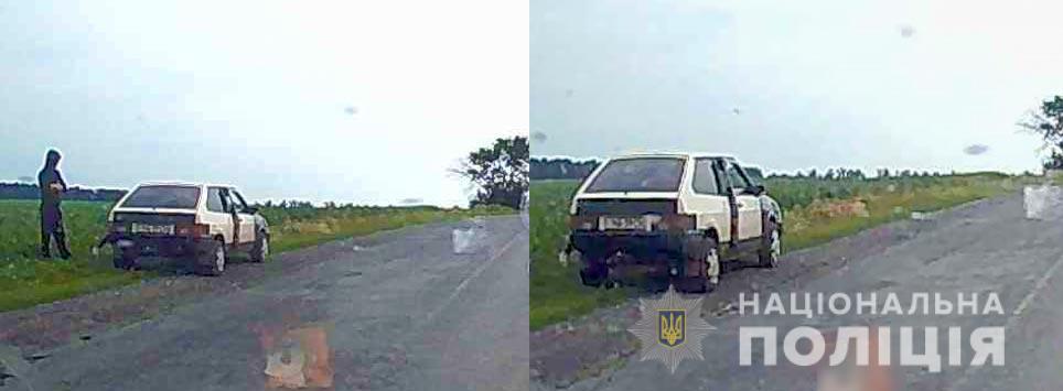 """Підрив авто """"Укрпошти"""": опубліковане орієнтування і фото нападників"""