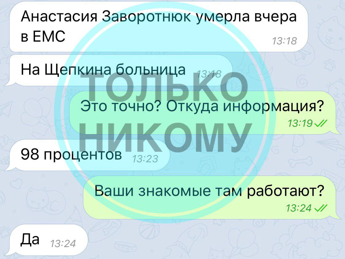 Заворотнюк умерла: росСМИ сообщили ужасные новости