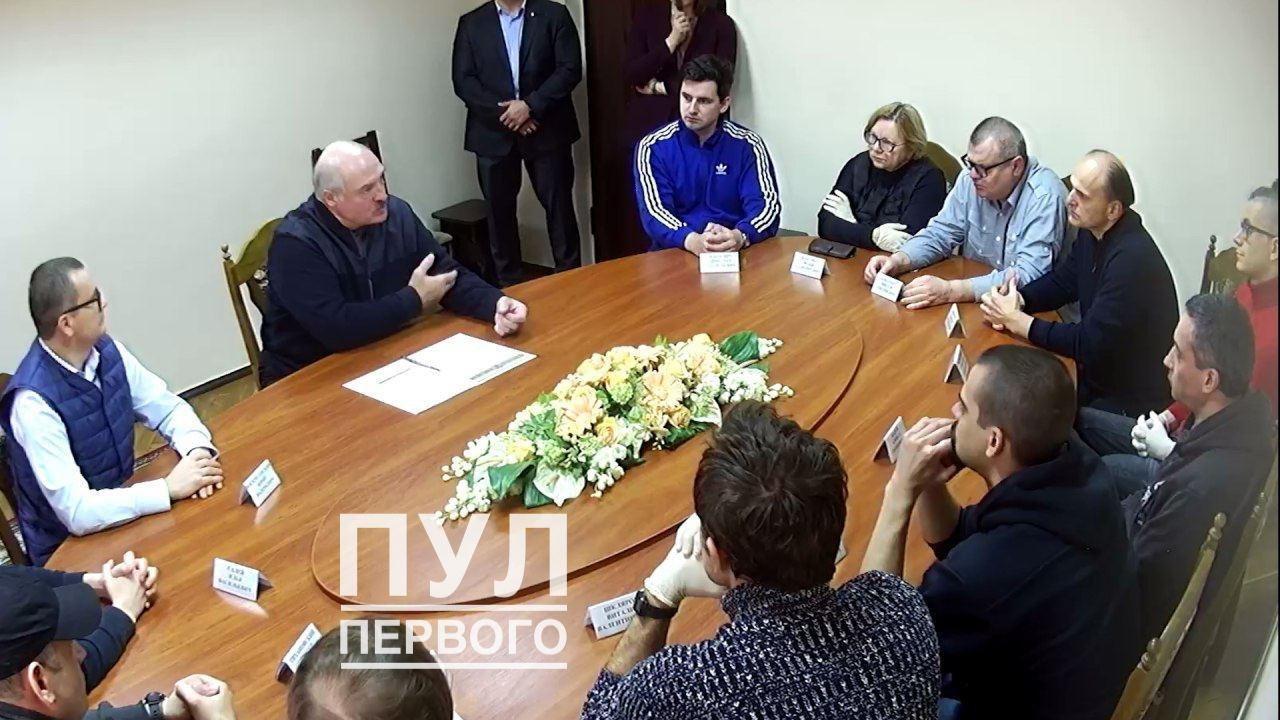 Лукашенко зустрівся з політв'язнями в ізоляторі КДБ