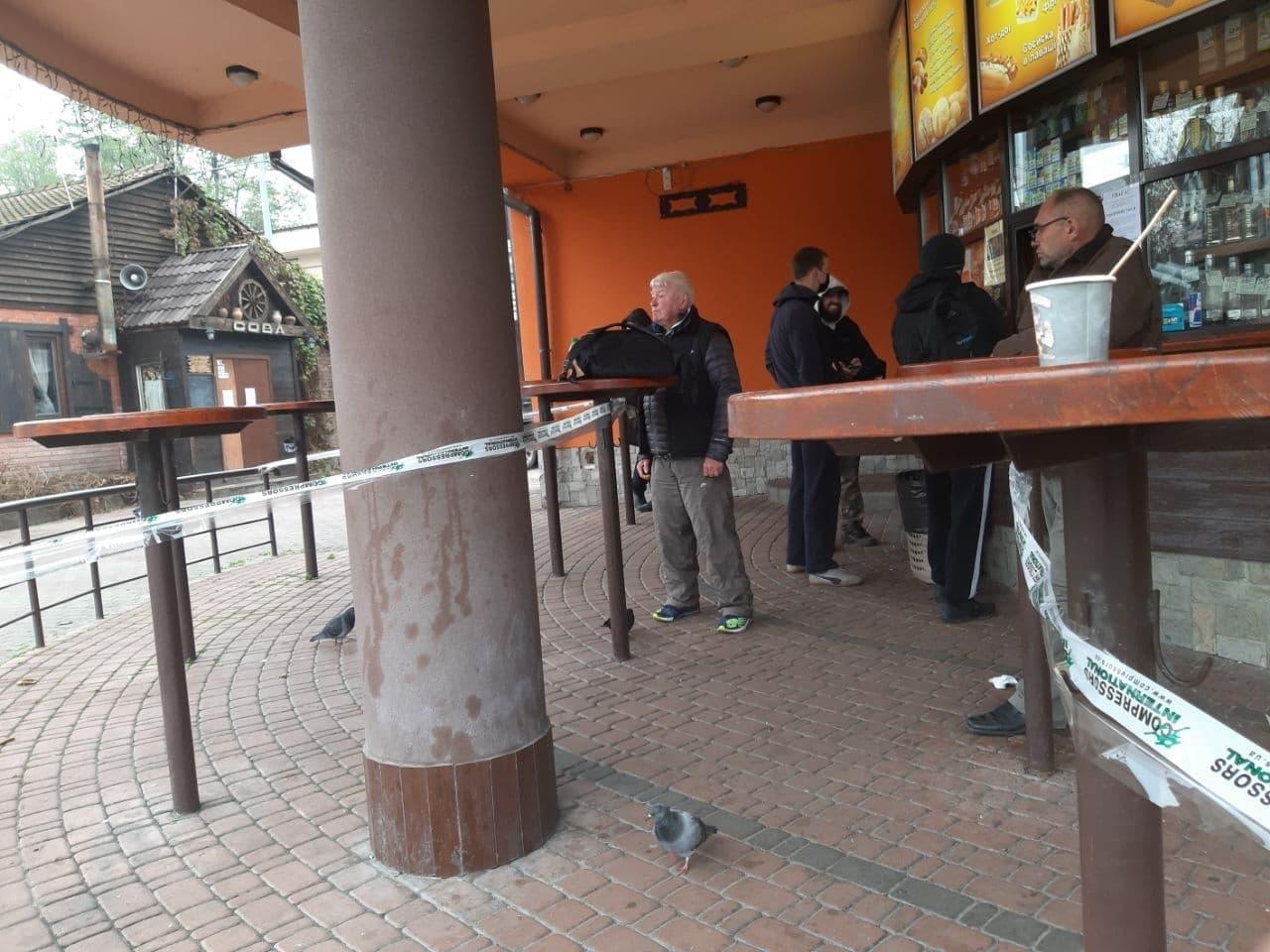 Кафе в Гидропарке попало в громкий скандал из-за карантина выходного дня