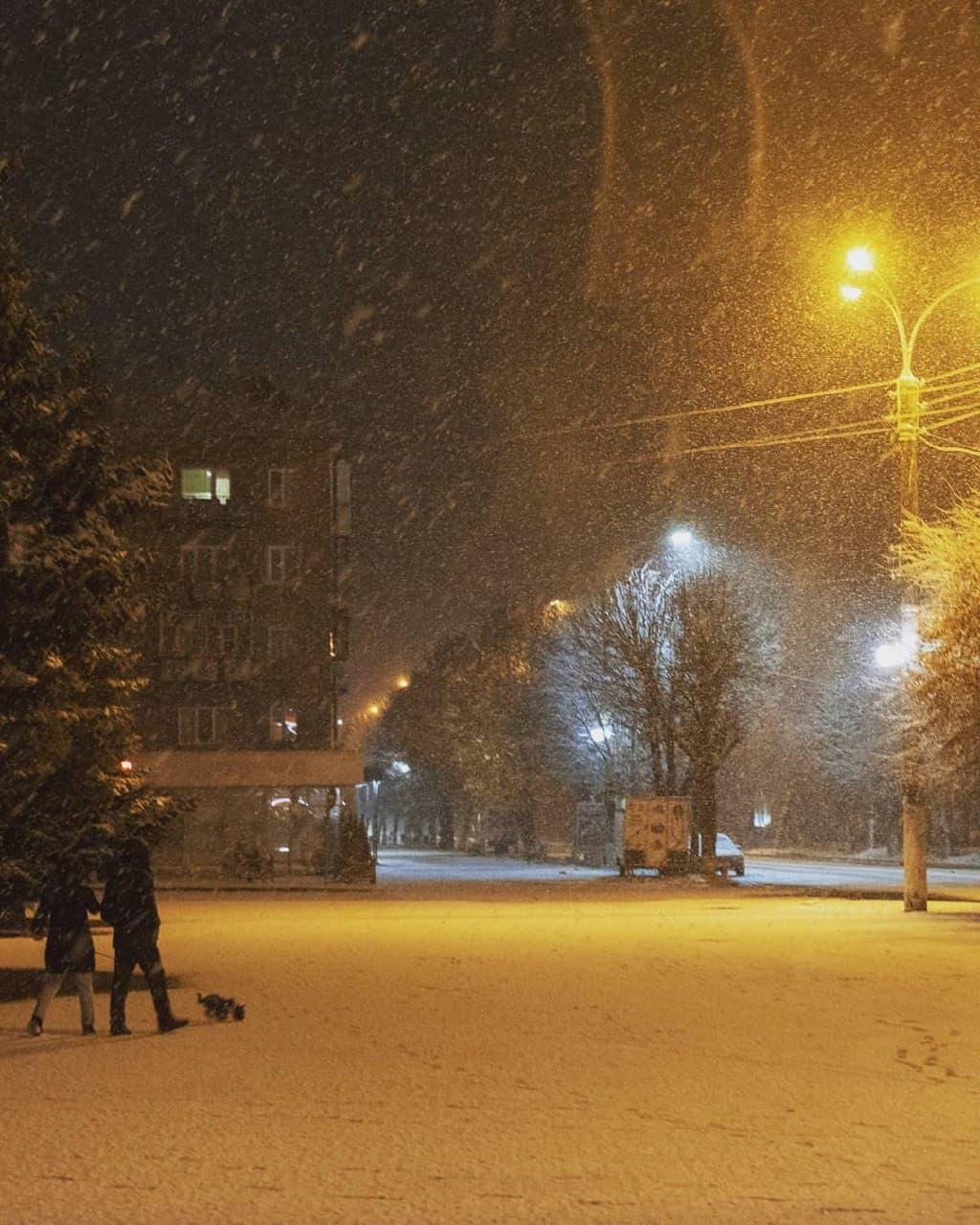 Перший сніг випав у Сумській області: неймовірні фото зимової казки