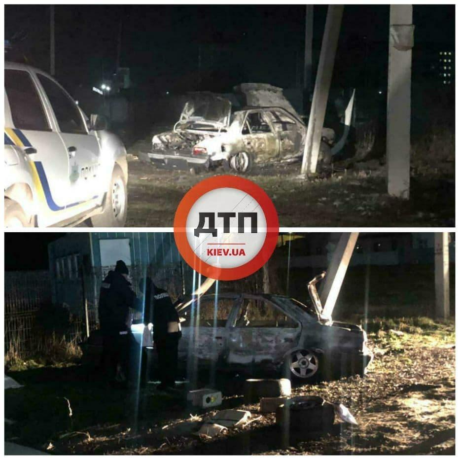 Город под Киевом всколыхнул мощный взрыв: в воздух взлетело припаркованное авто
