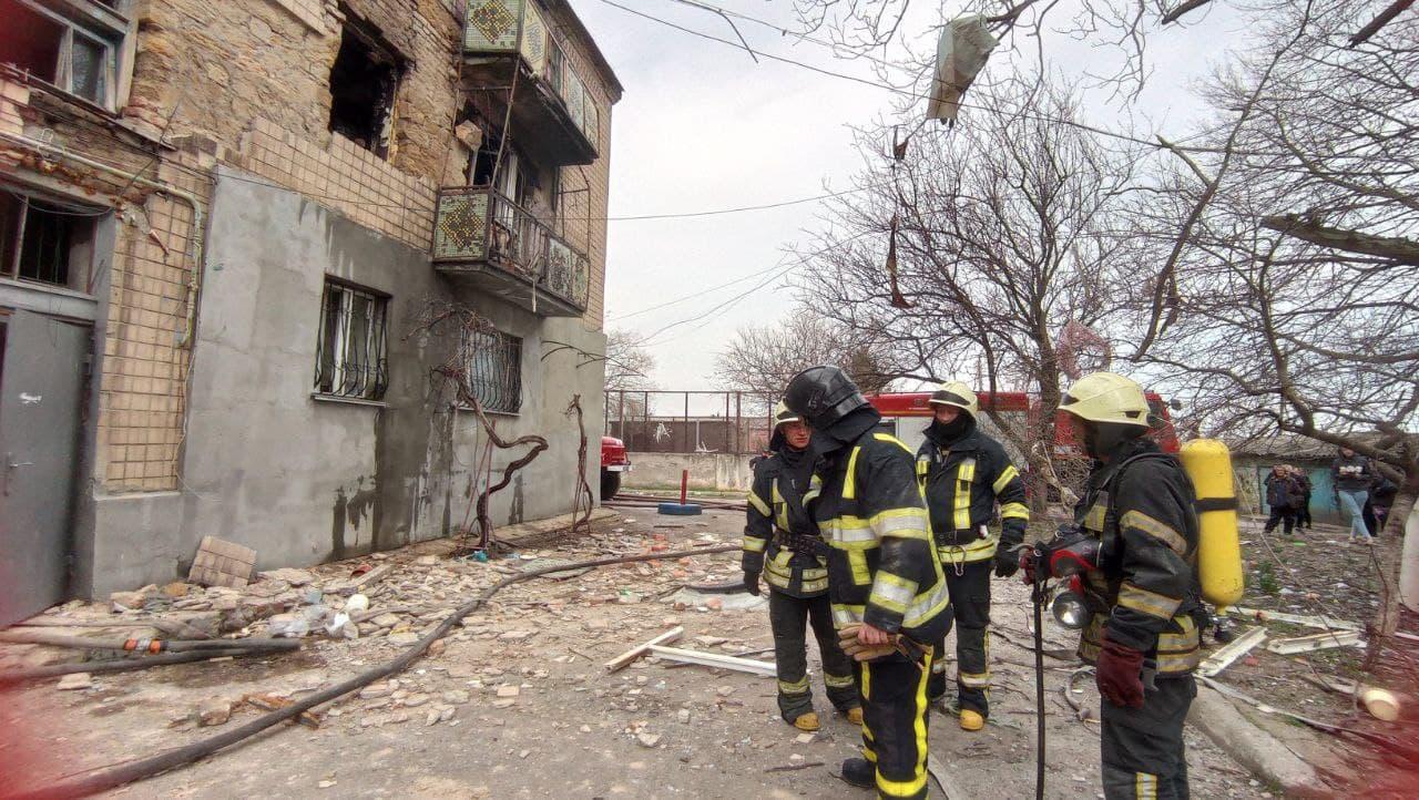 В Одессе произошел взрыв в многоквартирном доме. Есть пострадавшие