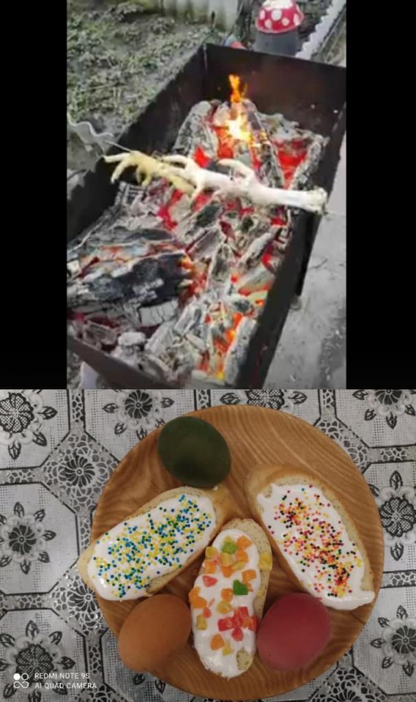 """Шахтарі з """"ДНР"""" відсвяткували Великдень шокуючими стравами на столі (фото)"""