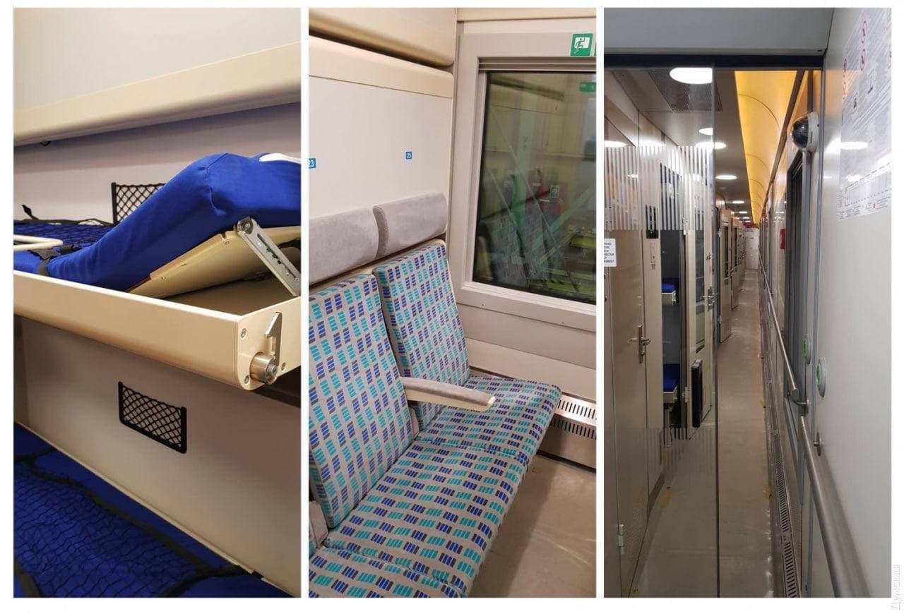 Из Киева в Одессу запускают элитный поезд с душем внутри: как он выглядит и цена билета