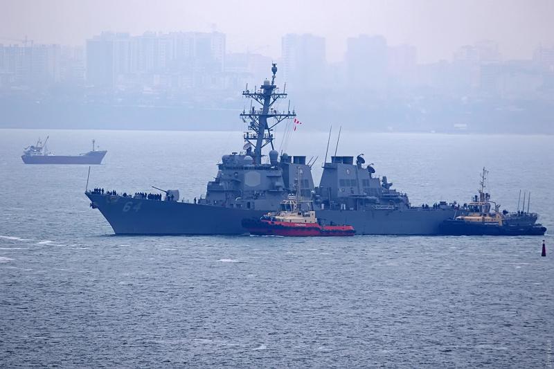 ВОдеський порт зайшов перший уцьому році есмінець НАТО