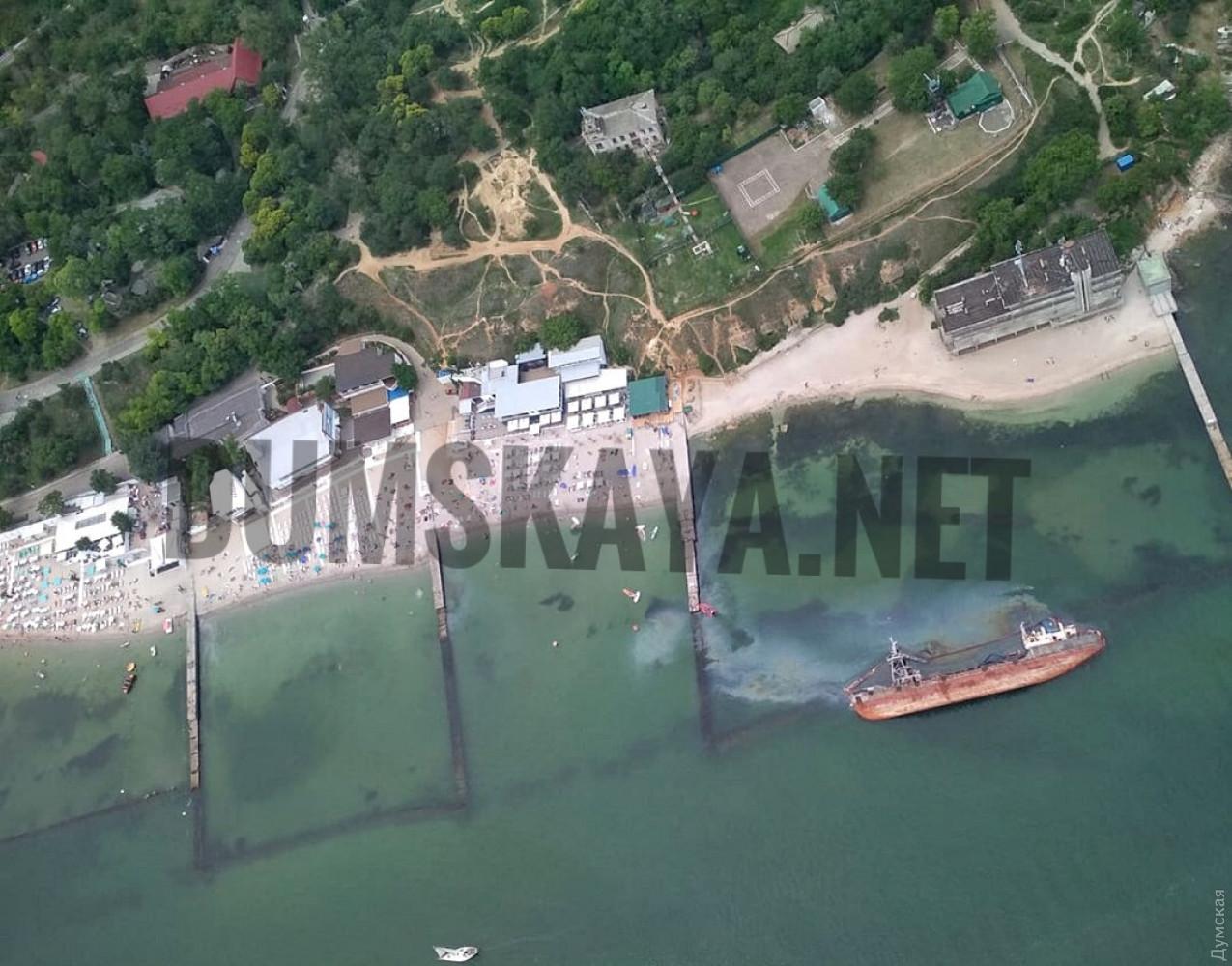 В Одессе произошла экологическая катастрофа: купаться в воде запрещено