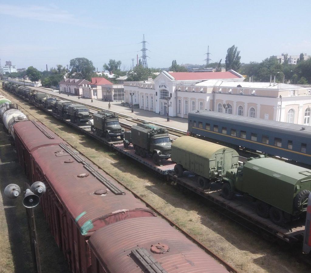 милитаризация Крыма