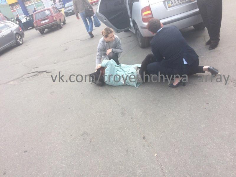 Сестры Савченко сбили пожилую женщину вКиеве