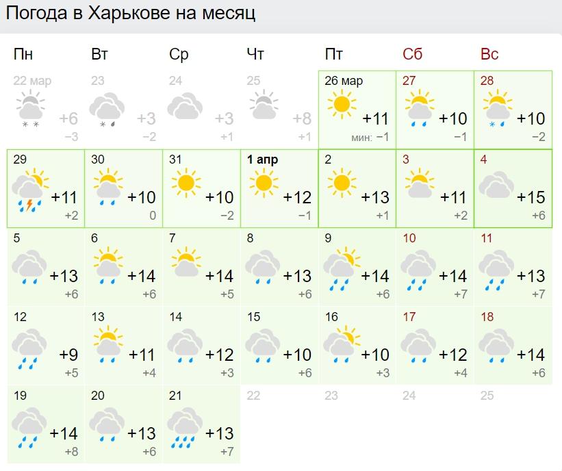 Заморозки і багато дощів: синоптики дали прогноз погоди на квітень