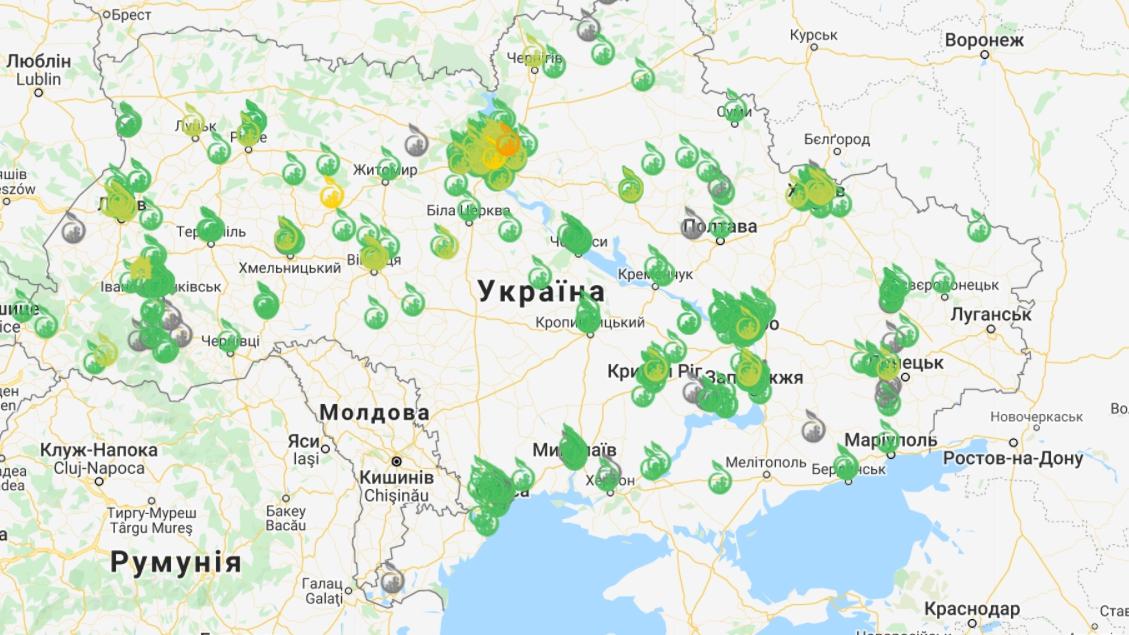 """Названо місто України з найбруднішим повітрям: єдине """"червоне"""" в країні"""