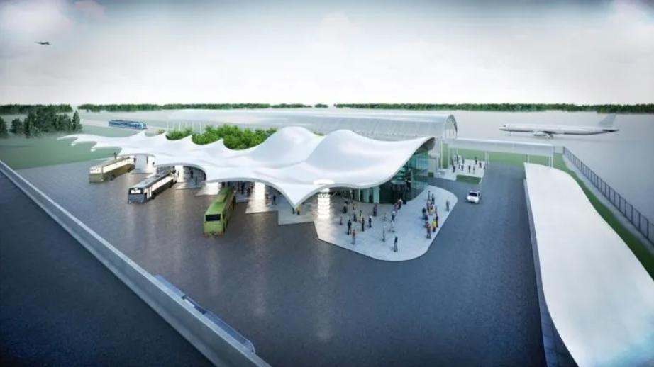 """У """"Борисполі"""" з'явиться нова автостанція: такого Україна ще не бачила"""