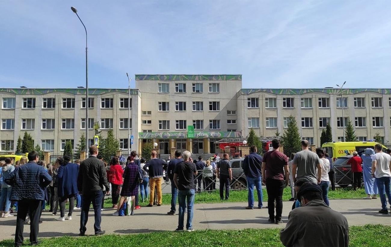В России вооруженные ученики устроили стрельбу в школе. Погибли минимум 9 человек