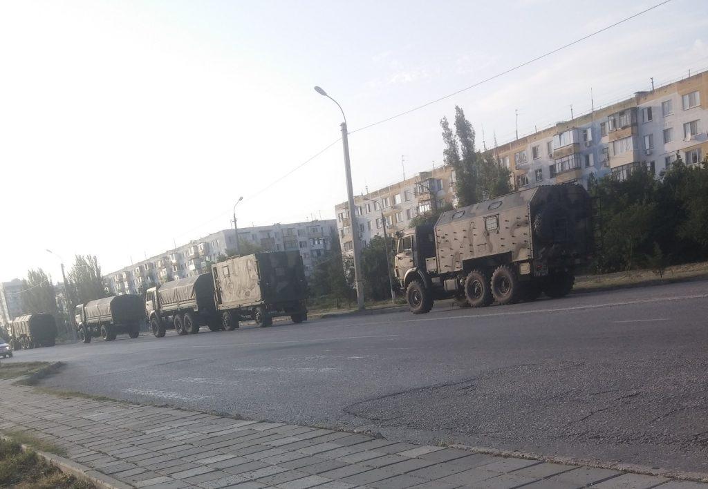 военная техника РФ в Крыму