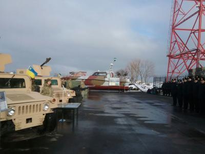 Президент сказал пограничникам новое оборудование, технику ивооружение