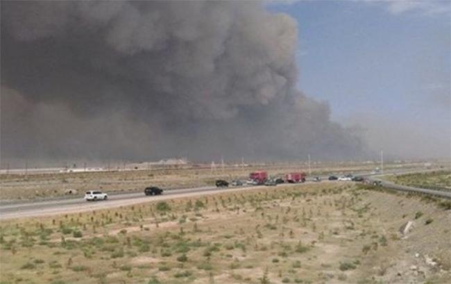 ВАзербайджані наскладі зі зброєю стався вибух через пожежу