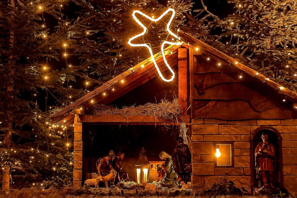 Біблійна сцена народження Христа