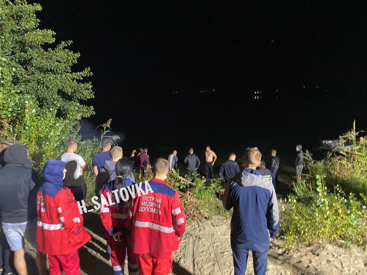 Під Харковом молода пара потонула під час побачення: фото і відео з місця трагедії