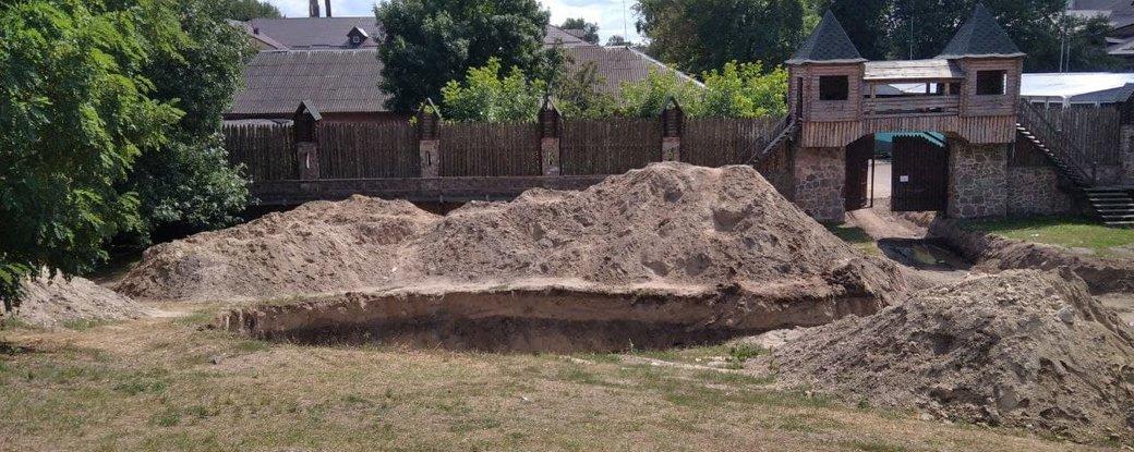 В Коростене на месте котлована под 50-метровый флагшток нашли останки мамонта (фото)