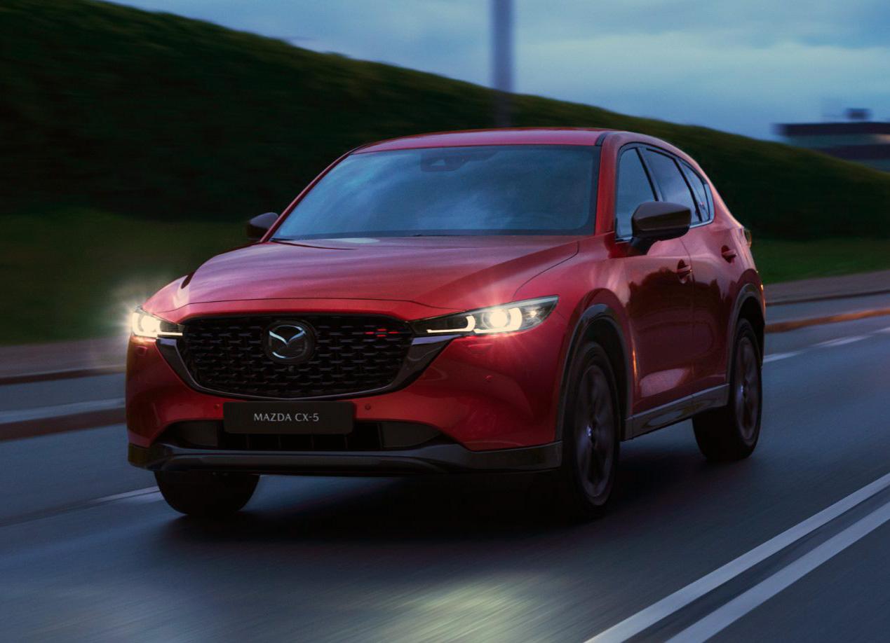 Представлена рестайлинговая Mazda CX-5: обновленная внешность и только полный привод