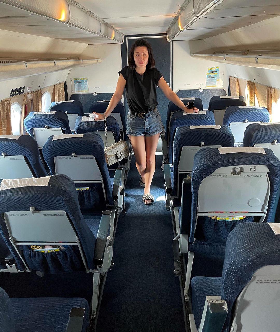 """Снежана Бабкина возмутилась украинскими авиалиниями: """"такого самолета не видела никогда"""""""