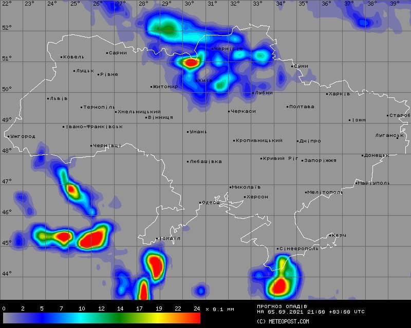 Холодний атмосферний фронт і антициклон: в Україну йде холод і дощі