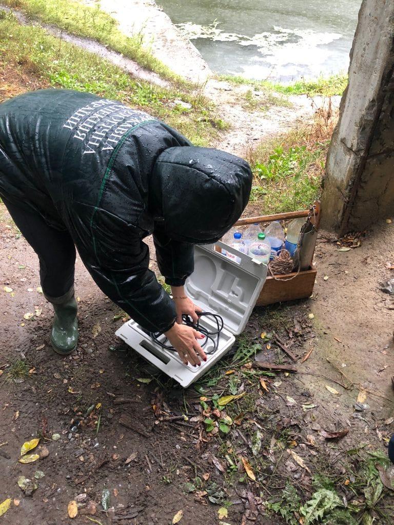У річці Тетерів масово гине риба: екологи підозрюють підприємство у скиданні нечистот (фото)