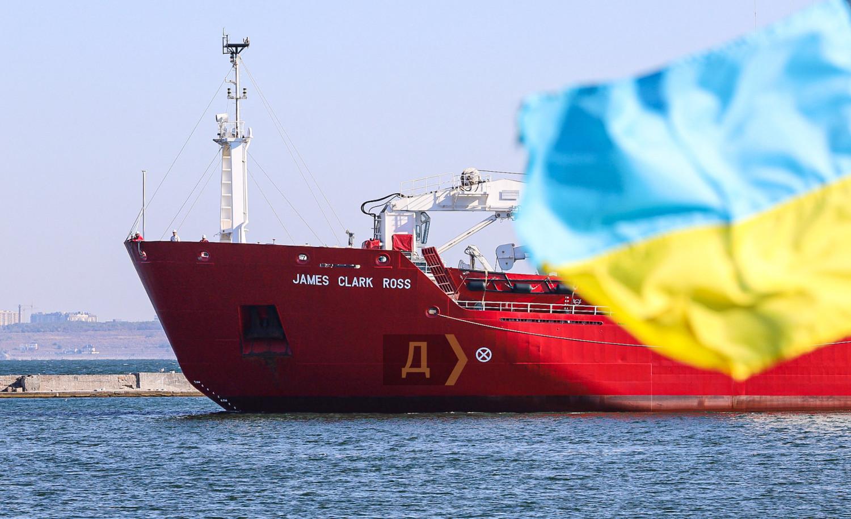 В Одессу прибыл первый за годы независимости украинский ледокол (фото)