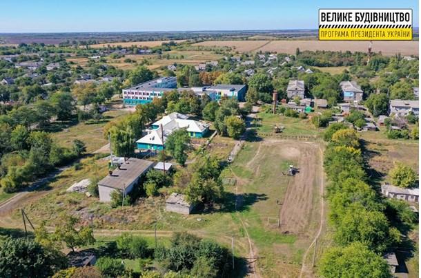 В поселке Днепропетровской области построят стадион на месте пустыря
